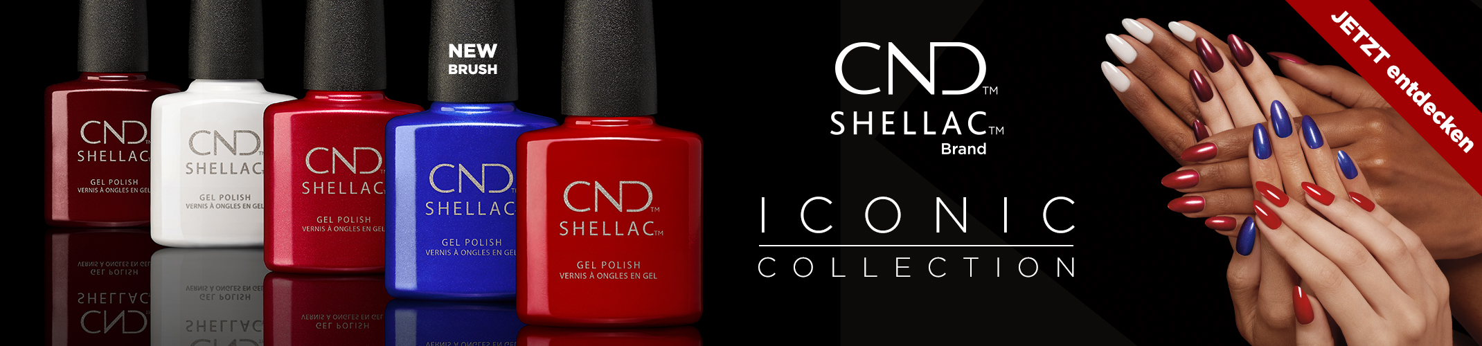 The Iconic Collection Shellac™
